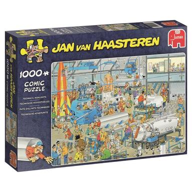 Pussel 1000 bitar Jan van Haasteren - Technical Highlights