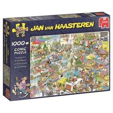 Pussel 1000 bitar Jan van Haasteren - The Holiday fair