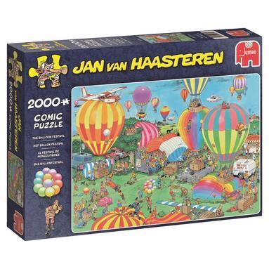 Pussel 2000 bitar Jan van Haasteren - Balloon festival