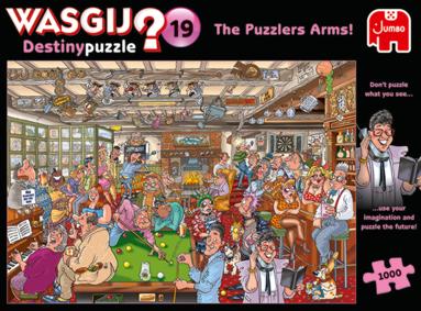 Pussel 1000 bitar Wasgij - Dest Puzzlers Arms! Destiny 19 1