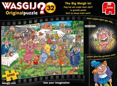 Pussel 1000 bitar Wasgij - The Big Weigh in! Orginal 19 1
