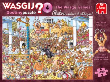 Pussel 1000 bitar Wasgij - The Wasgij Games! Destiny 4 1