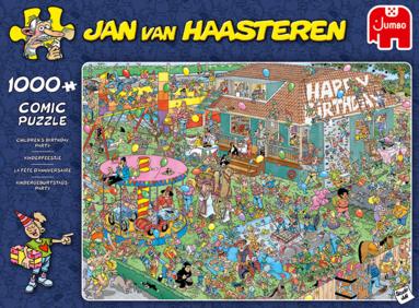 Pussel 1000 bitar Jan van Haasteren Children's Birthday Party 1