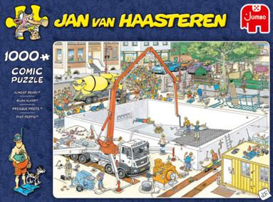 Pussel 1000 bitar Jan van Haasteren Almost ready? 1