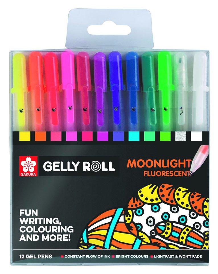Gelpenna Gelly Roll Moonlight 12 färger 1