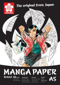 Teckningsblock A5 Sakura Manga Paper - Bristol