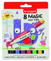 Fiberspetspenna Bruynzeel Magic 8 färger