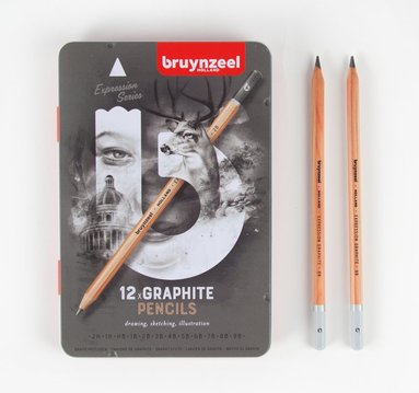 Blyertspenna Expression Graphite 12-pack