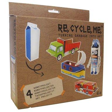 Re-cycle-me mjölkkartongsprojekt