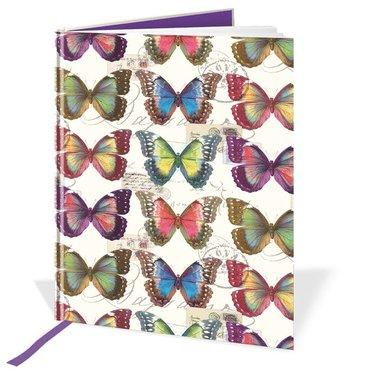 Anteckningsbok A5 fjärilar