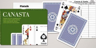 Spelkort Canasta Piatnik 1