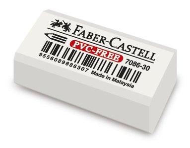 Radergummi litet PVC-fritt
