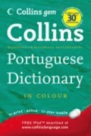 bokomslag Collins gem portuguese dictionary