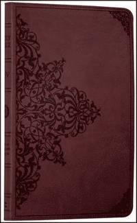 bokomslag Holy Bible: English Standard Version (ESV) Anglicised Chestnut Ornamental Thinline edition