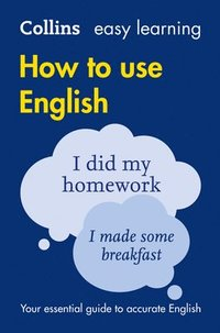bokomslag Easy Learning How to Use English