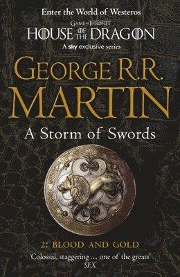 bokomslag Storm of swords: part 2 blood and gold (reissue)