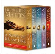 bokomslag A Game of Thrones 4 Books Set