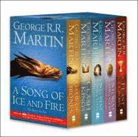 A Game of Thrones 4 Books Box Set