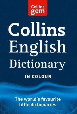 bokomslag Collins Gem English Dictionary 16th Edition