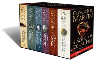 bokomslag A Game of Thrones 5 Books Box Set