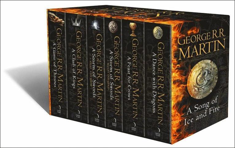 Game of Thrones, 6 vol box 1