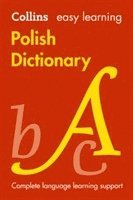 bokomslag Easy Learning Polish Dictionary