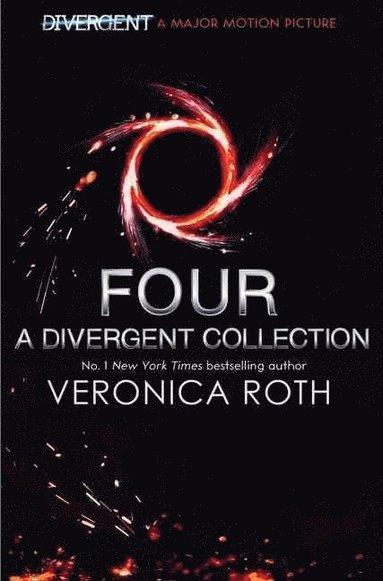 bokomslag Four: A Divergent Story Collection Black Cover