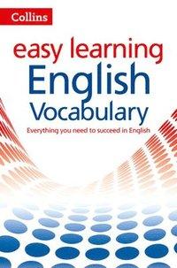 bokomslag Easy Learning English Vocabulary