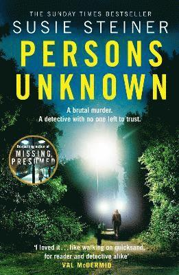bokomslag Persons Unknown