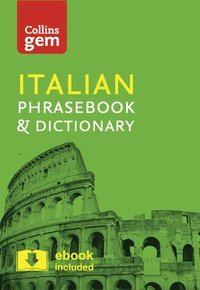 bokomslag Collins Italian Phrasebook and Dictionary Gem Edition