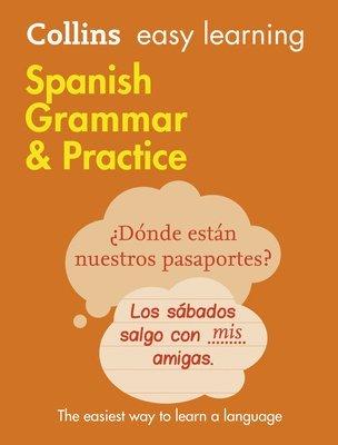 bokomslag Easy Learning Spanish Grammar and Practice