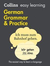 bokomslag Easy Learning German Grammar and Practice