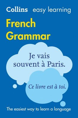 bokomslag Easy Learning French Grammar