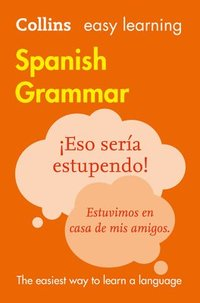 bokomslag Easy Learning Spanish Grammar