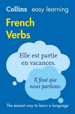 bokomslag Easy Learning French Verbs