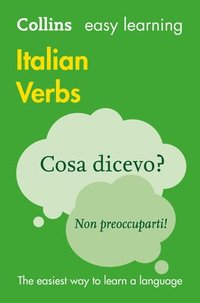 bokomslag Easy Learning Italian Verbs