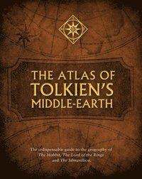 bokomslag The Atlas of Tolkien's Middle-Earth