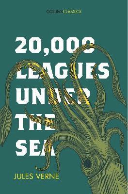 bokomslag 20,000 leagues under the sea