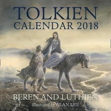 bokomslag Tolkien Calendar 2018