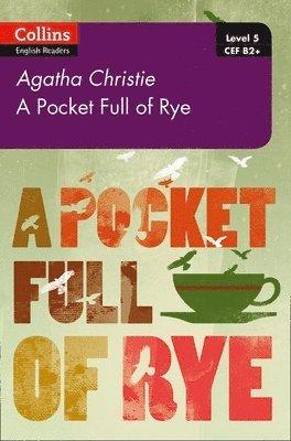 bokomslag Pocket full of rye - b2+ level 5