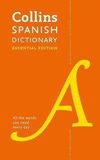 bokomslag Spanish Essential Dictionary