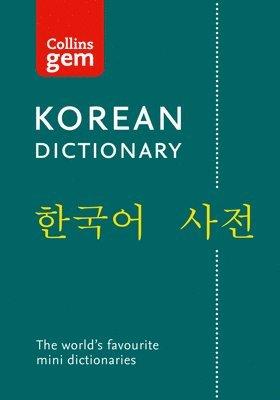 bokomslag Collins Korean Gem Dictionary