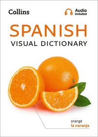 bokomslag Spanish Visual Dictionary