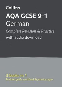 bokomslag AQA GCSE 9-1 German All-in-One Complete Revision and Practice