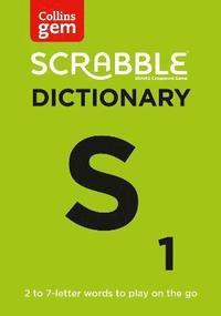 bokomslag SCRABBLE (R) Dictionary Gem Edition