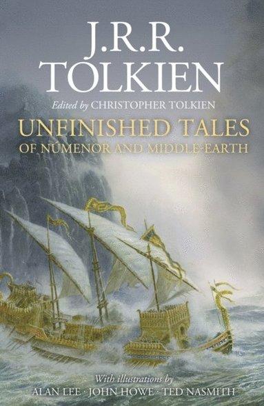 bokomslag Unfinished Tales Illustrated edition