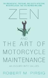 bokomslag Zen and the Art of Motorcycle Maintenance