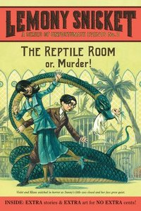 bokomslag A Series of Unfortunate Events #2: The Reptile Room