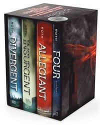 bokomslag The Divergent Series: Divergent, Insurgent, Allegiant, Four