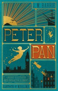 bokomslag Peter Pan (Illustrated with Interactive Elements)
